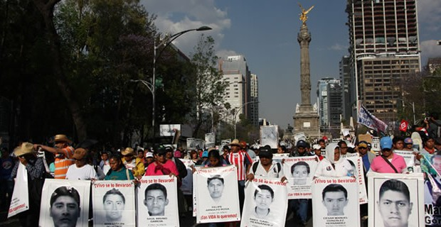 X Ación Global por Ayotzinapa (video)