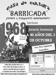 Cartel de Barricada
